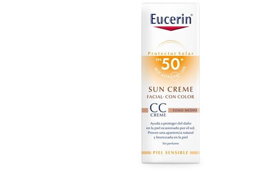 Eucerin Sun Creme Tinted CC Medium FPS 50+