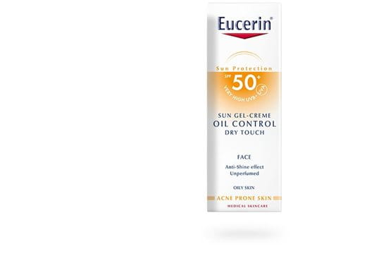 Eucerin Sun Gel Crema Oil Control Toque Seco Fps 50